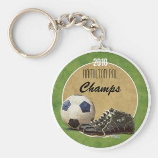 Fußballplatz Schlüsselanhänger