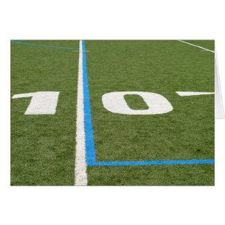 Fußballplatz zehn karte