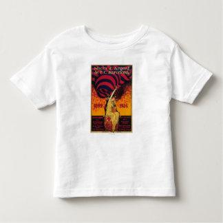 Fußballpromo-Plakat Kleinkind T-shirt