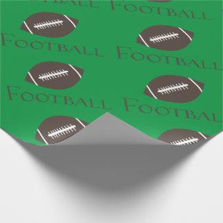Fußballspiel-Ball Geschenkpapier