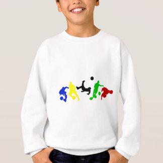 Fußballspieler-   Fußball-Sportfan Sweatshirt