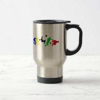 Fußballspieler- Fußball-Sportfan Tee Tassen