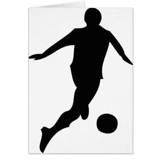 Fußballspieler Karte