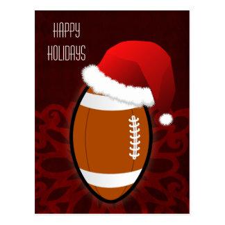 Fußballspieler Weihnachtskarten Postkarte