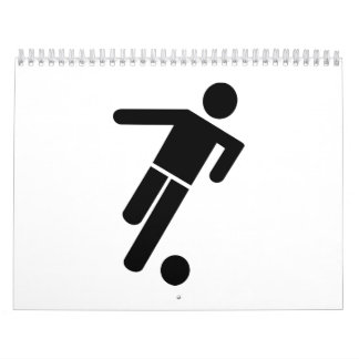 Fußballspielerikone Abreißkalender