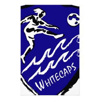 Fußballteam Whitecaps Frauen Briefpapier