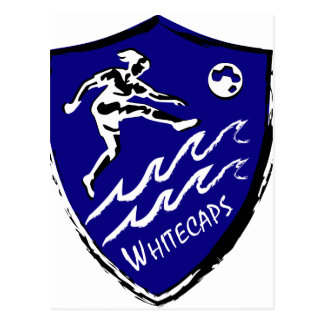 Fußballteam Whitecaps Frauen Postkarte