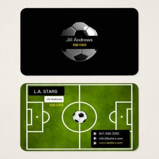 Fußballtrainer-Visitenkarte Visitenkarte