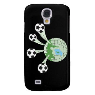 Fußballweltweltweite Grafik Galaxy S4 Hülle