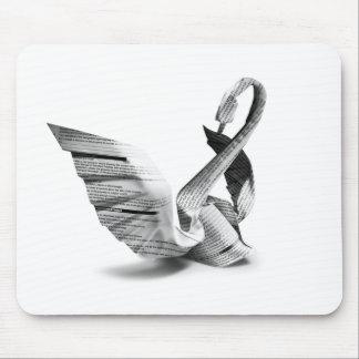 fußmatte origami mousepad
