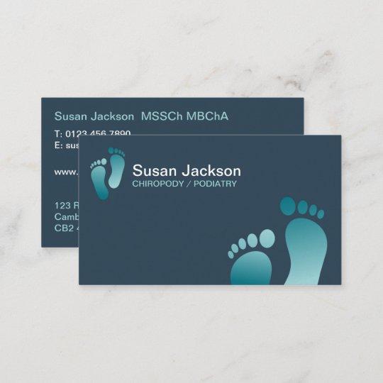 Fußpflege Visitenkarte Visitenkarte Zazzle De