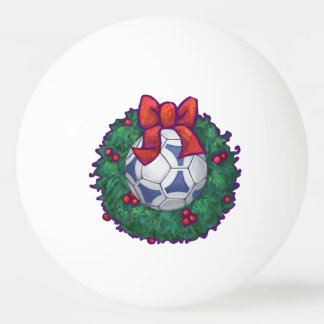 Futbal Weihnachten Ping-Pong Ball