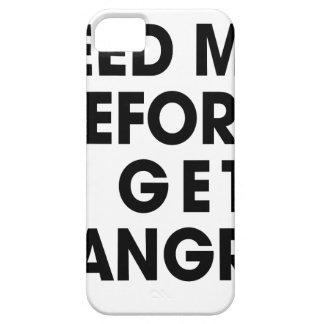 Füttern Sie mich iPhone 5 Schutzhülle