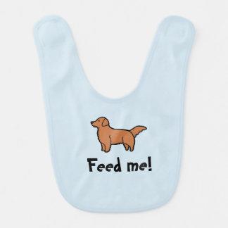 Füttern Sie mir Schellfisch Lätzchen