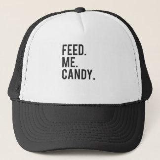Füttern Sie mir Süßigkeits-Druck Truckerkappe