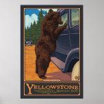 Füttern Sie nicht die Bären - Yellowstone National Plakate