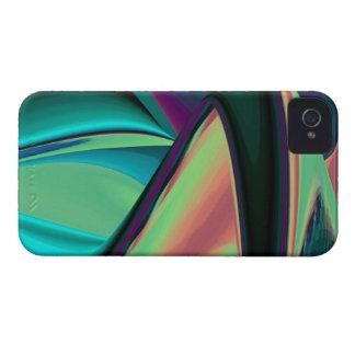 futuristisch, abstrakt regenbogen Case-Mate iPhone 4 hülle