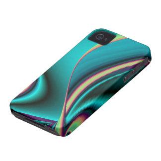 futuristisch, abstrakt regenbogen iPhone 4 hüllen