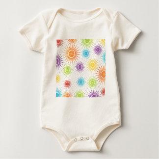 Futuristische Grafik Baby Strampler