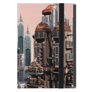 Futuristische Stadt Etui Fürs iPad Mini