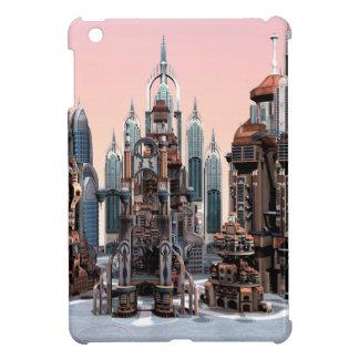 Futuristische Stadt iPad Mini Hülle
