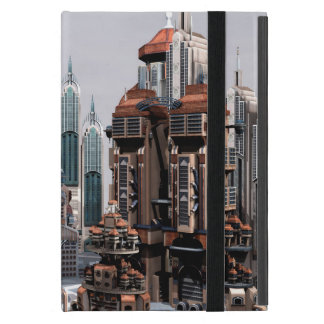Futuristische Stadt iPad Mini Hüllen