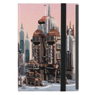 Futuristische Stadt iPad Mini Schutzhülle