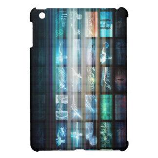 Futuristische Technologie mit dem zukünftigen Tech iPad Mini Hülle
