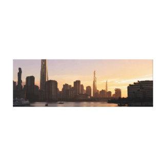 Futuristische Vancouver-Skyline Leinwanddruck