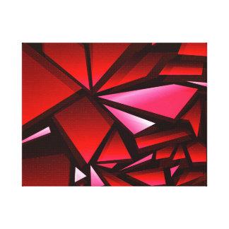 Futuristischer abstrakter Kunst-Leinwand-Druck Leinwanddruck