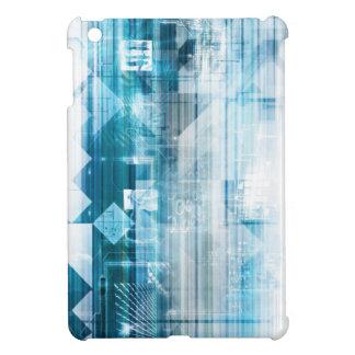 Futuristischer Hintergrund mit der Technologie iPad Mini Hülle
