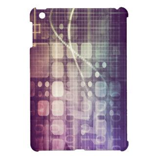 Futuristisches abstraktes Konzept auf Technologie iPad Mini Hülle