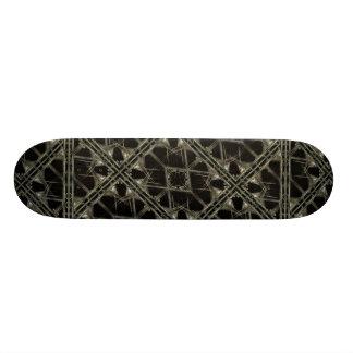 Futuristisches Beschaffenheits-Muster Individuelle Skateboards