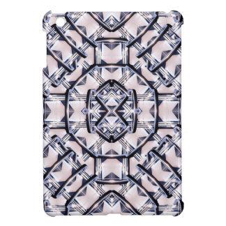 Futuristisches geometrisches Muster iPad Mini Hülle