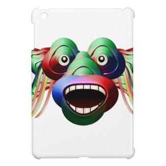 Futuristisches lustiges Monster-Charakter-Gesicht iPad Mini Hülle