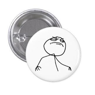 Fyea-Raserei-Gesicht Meme Runder Button 3,2 Cm