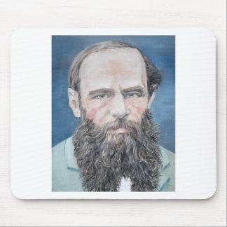 fyodor dostoyevsky - Ölporträt Mauspad