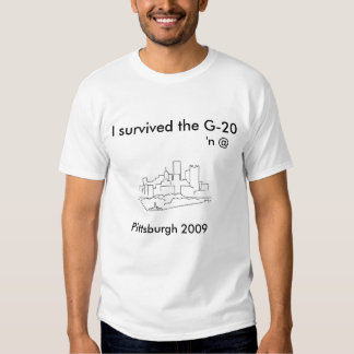 G-20 T SHIRTS