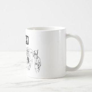 G.I.T.S. Typen in den festen Kurzschlüssen Kaffeetasse