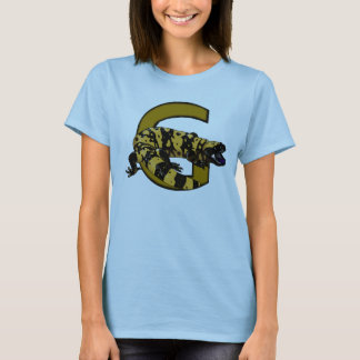 G ist für Gila-Krustenechse! (nur helle Farben) T-Shirt