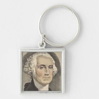 G Washington, Currier und Ives Schlüsselanhänger