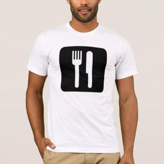 Gabel und Messer T-Shirt