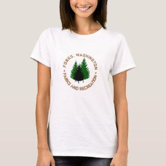 Gabeln, Washington-Parks und Erholungs-Shirt T-Shirt