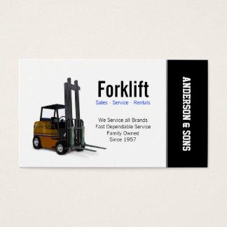 Gabelstapler-Verkäufe und Service Visitenkarte