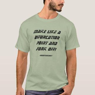 Gabelungs-Punkt-T - Shirt 2