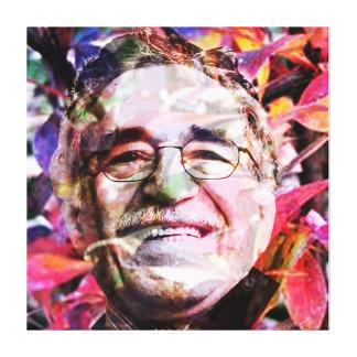 Gabriel García Márquez Leinwanddruck