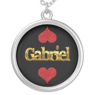 Gabriel-Halskette Versilberte Kette