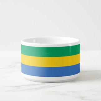 Gabun-Flagge Kleine Suppentasse