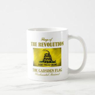 Gadsden-Flagge Kaffeetasse