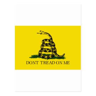 Gadsden-Flagge Postkarte